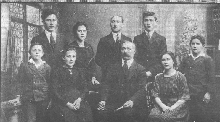ofiti della famiglia di Celestino e Adelaide Tissi